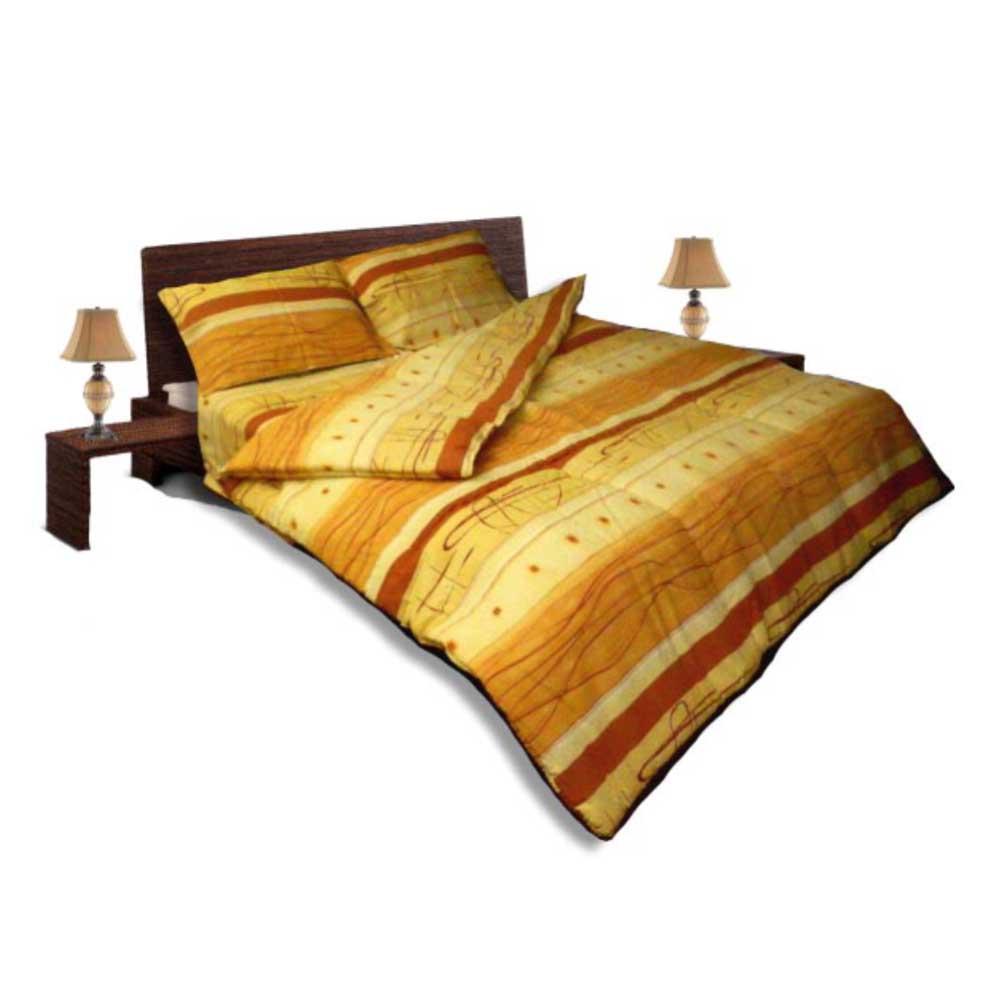 Олекотен спален комплект - Крепон - Оранж