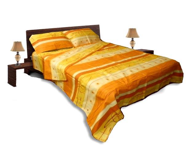Спално бельо комплект - Памук- Оранж