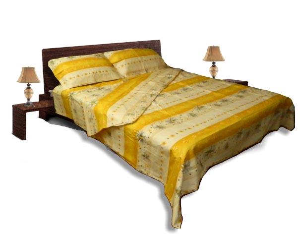 Спално бельо комплект - Памук- Кремав
