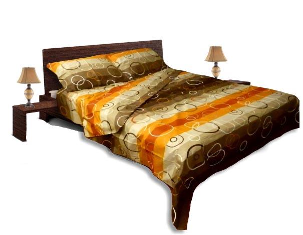Спално бельо комплект - Ранфорс-Оранж