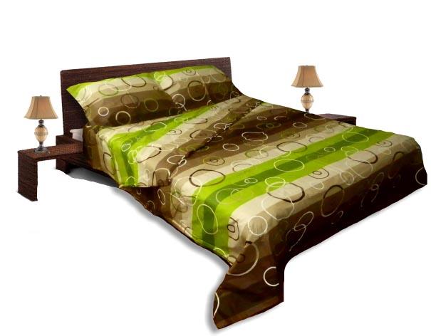 Спално бельо комплект- Ранфорс-Зелен